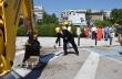 Започна изграждане на кръгово кръстовище в центъра на Горна Оряховица
