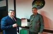 Инж. Добромир Добрев връчи награда за добротворчество на Георги Симеонов